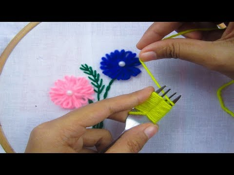 Hand Embroidery,Easy Hand Embroidery Tricks,New tricks & tips,Crafts & Embroidery