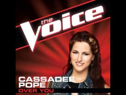 "Cassadee Pope: ""Over You"" - The Voice (Studio Version)"