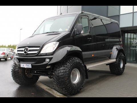 sprinter 4x4 iceland artic trucks youtube. Black Bedroom Furniture Sets. Home Design Ideas