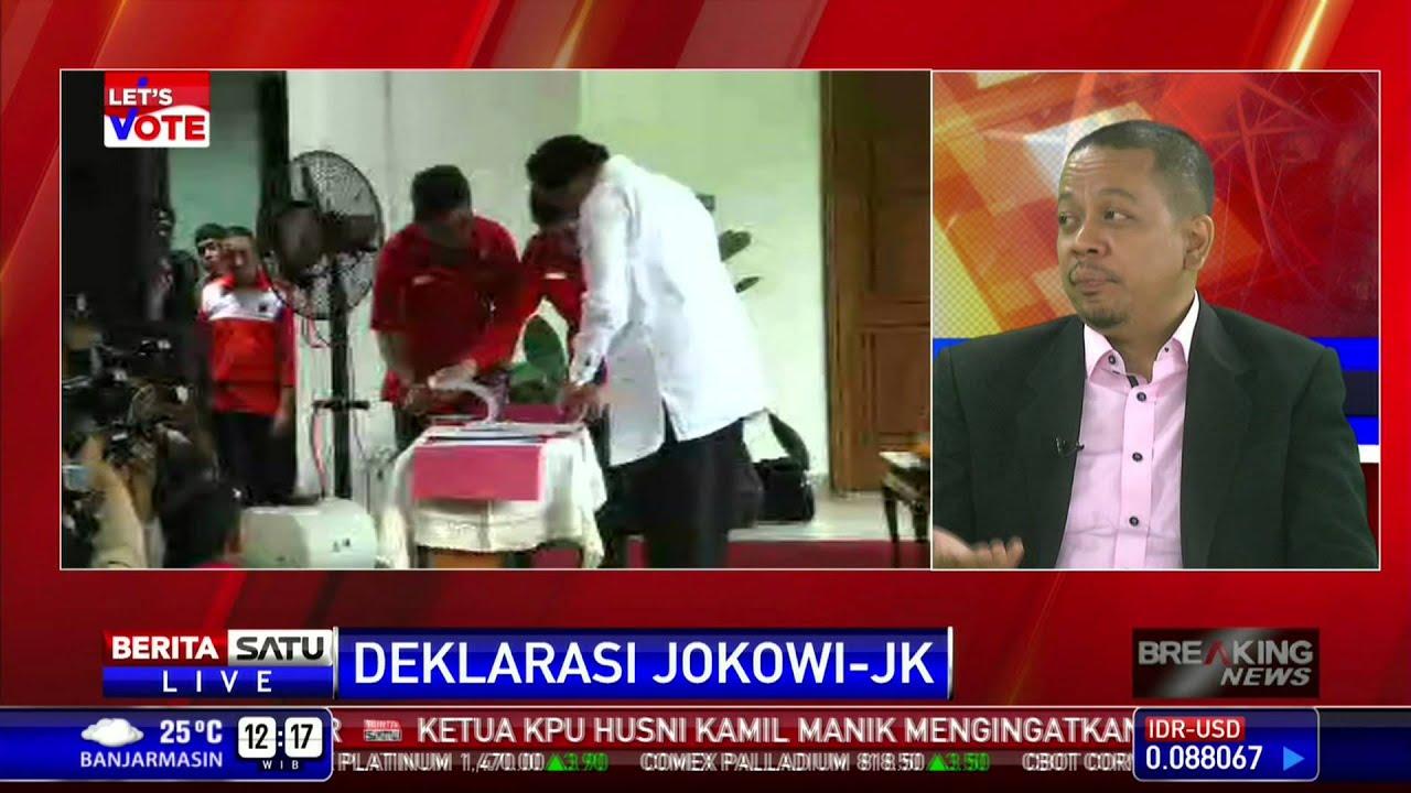 Dialog Deklarasi Jokowi Jk 3 Youtube