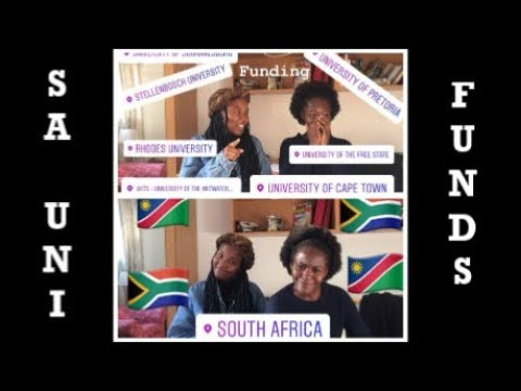 Namibians Applying to SA Universities | Funding | Hilya Iiku