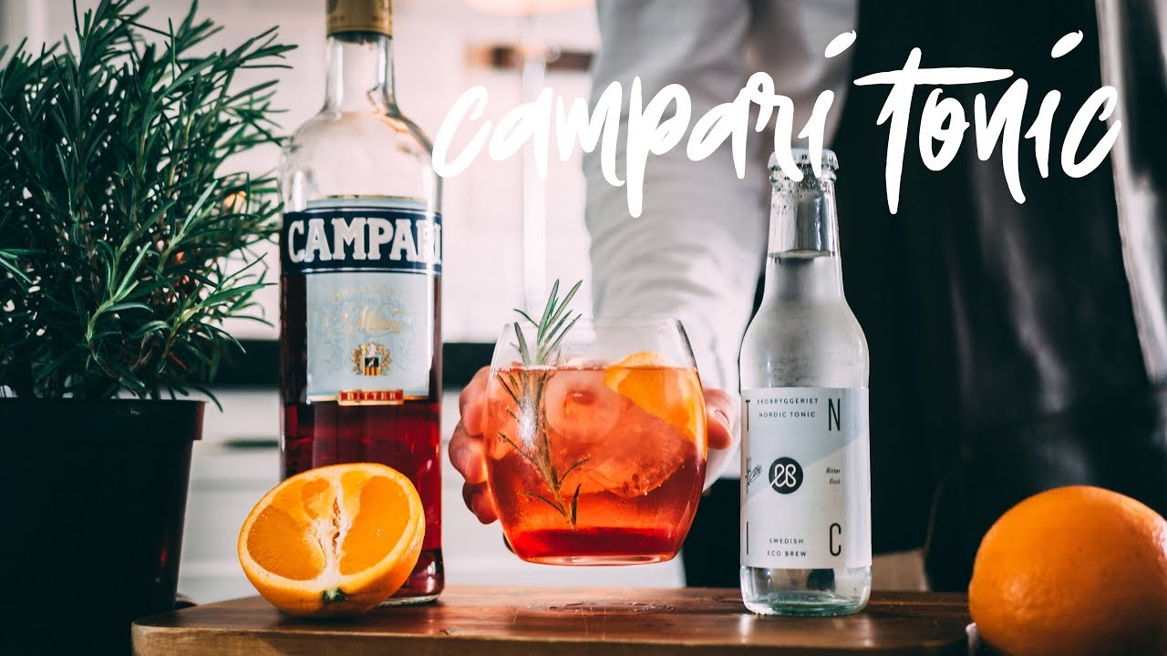 Campari Tonic | The Friday Cocktail