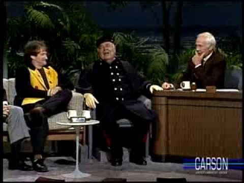 Jonathan Winters & Robin Williams Reminisce about Mork and Mindy on Johnny Carson