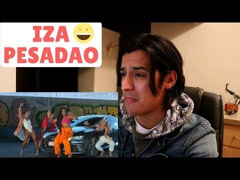 IZA - Pesadão (Participação especial Marcelo Falcão)   Reaction