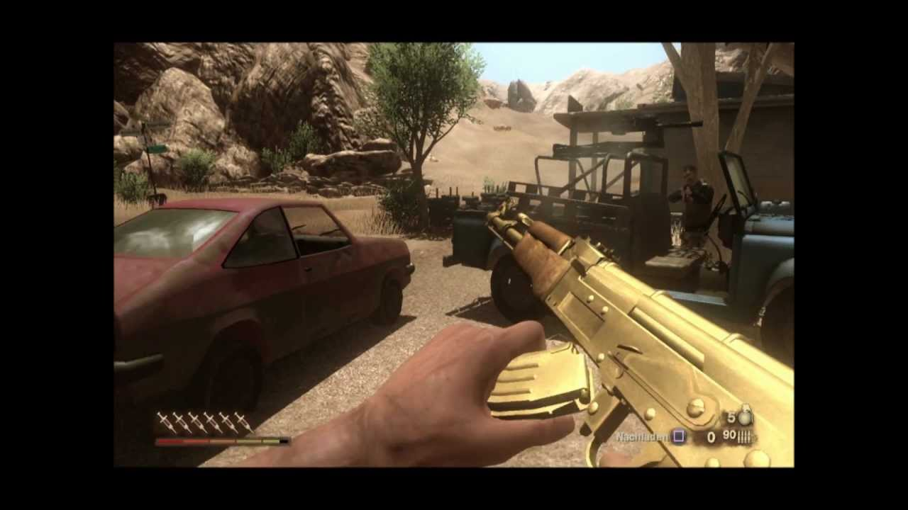 Far Cry 2 Gold Ak Old To New Glitch Youtube