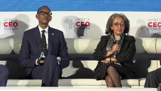 Africa CEO Forum Panel | Kigali, 25 March 2019.