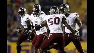Troy vs. #25 lsu highlights 2017 | cfb week 5 | college football highlights 2017