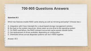 700-905 Cisco HyperFlex for Systems Engineers Exam Dumps