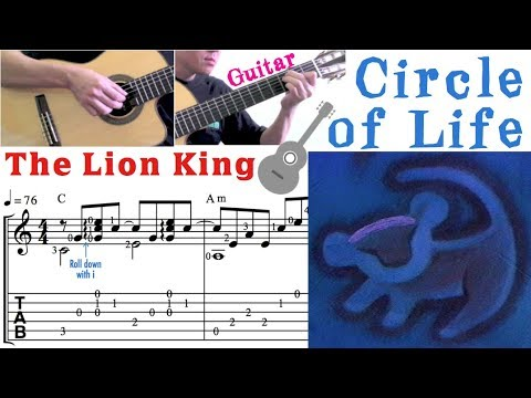 Circle of Life / The Lion King (Guitar) 生生不息 / 獅子王 (吉他)
