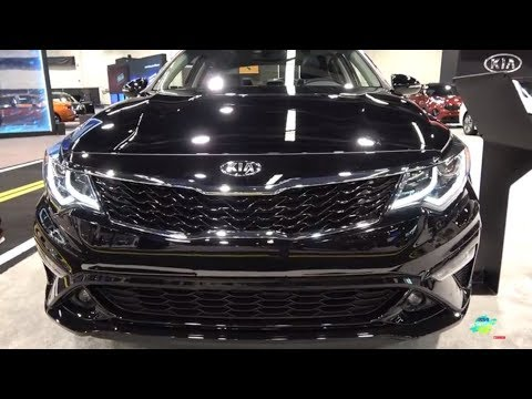 2019 Kia Optima S  Exterior And Interior Walk Around - 2018 OC Auto Show