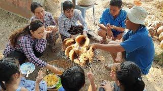 TRONG LÚC TRỒNG RAU THÌ NƯỚNG BẠCH TUỘC ĂN CHƠI | 7 Thuận #09