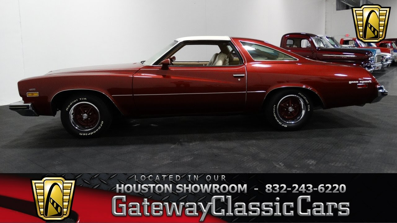 1974 Buic Gran Sport Gateway Classic Cars Of Houston Stock 388 HOU   YouTube