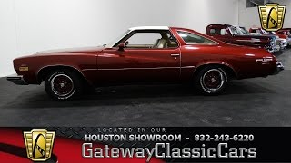 1974 Buic Gran Sport  Gateway Classic Cars of Houston  stock 388 HOU