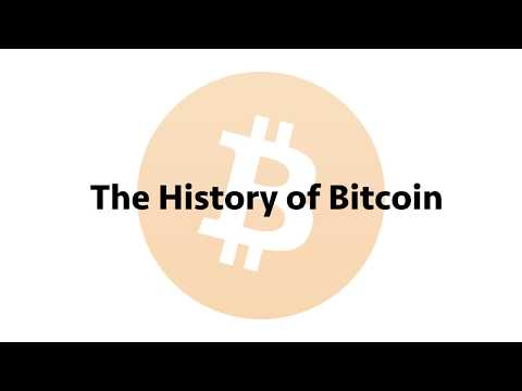 The History of Bitcoin