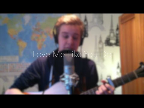 Ellie Goulding - Love Me Like You Do (ACOUSTIC COVER WITH CHORDS & LYRICS)