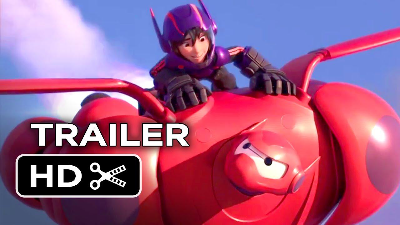 Big Hero 6 Official Trailer 2 2014 Disney Animation Movie Hd Youtube