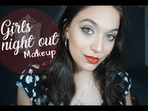 Girls Night Out Makeup   Manuella Neiva