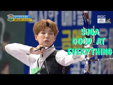 PROOF THAT SUGA IS GOOD AT EVERYTHING