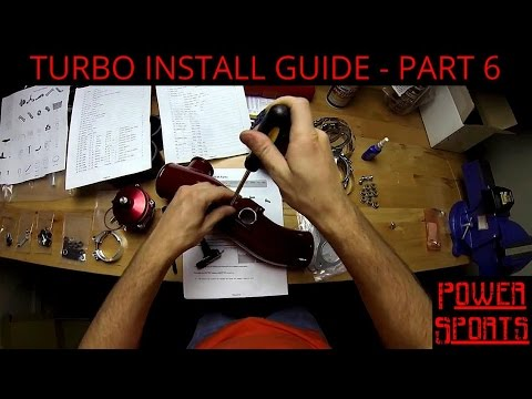 How To Install A Turbocharger - Scion FR-S, Subaru BRZ - Part 6 of 20