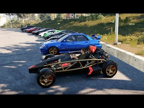 Forza Horizon 2 (XB1) | Street Monster Meet Pt.6 | ~800HP Ariel Atom Build, Drags+Rolls & More