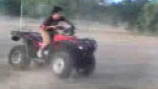 Honda 05 having fun