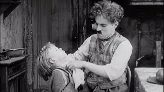 مقطع جميل من فيلم الطفل The Kid 1921 - شارلي شابلن Charlie Chaplin