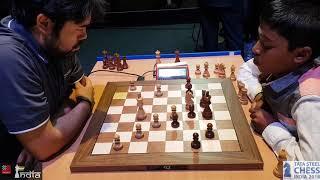 Nakamura vs Praggnanandhaa | The game that helped Vishy Anand reach the tiebreak playoffs