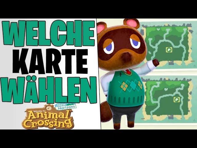 WELCHE MAP AUSWÄHLEN ? - 5 DINGE DIE FÜR IMMER BLEIBEN | Animal Crossing New Horizons deutsch