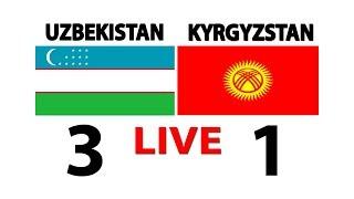 Прямое эфир. Узбекистан - Кыргызстан O