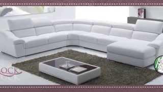 Talianske kožené sedačky Euro sofa