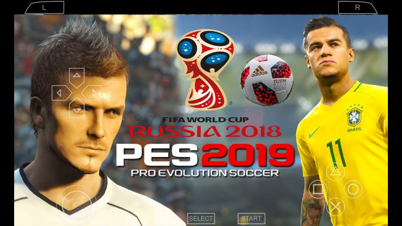 PES 2019 PSP (PPSSPP / iOS / ANDROID) New Version World Cup 2018 Atualizado  (C 19) Download ISO