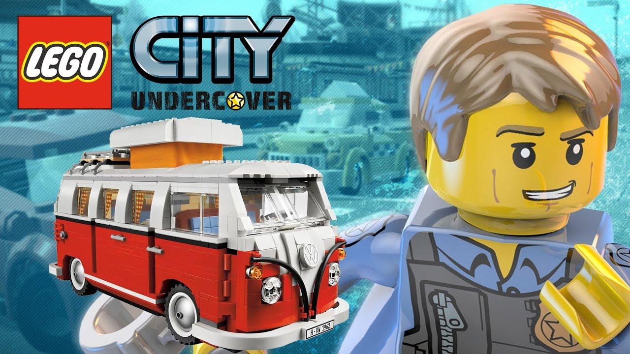 lego city undercover  heavy vehicles showcase  get heavy