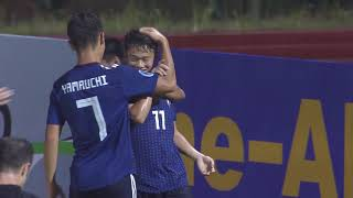 Download Video Japan 5-2 Thailand (AFC U16 Malaysia 2018 : Group Stage) MP3 3GP MP4