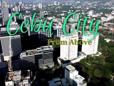 Cebu City  From Above  I   Drone Shot   I  HD Video