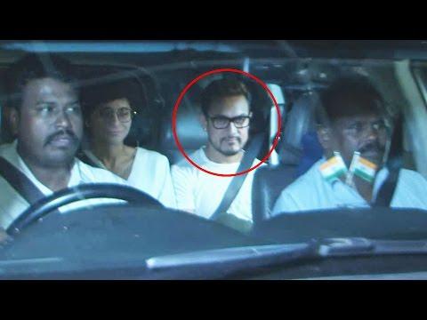 Aamir Khan WATCHES Amitabh Bachchan's PINK Movie With Dangal Movie Team