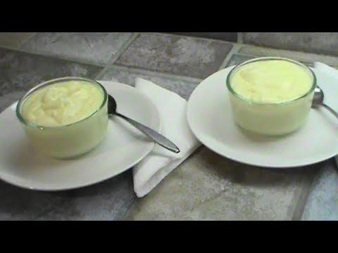 Home Made Vanilla Pudding