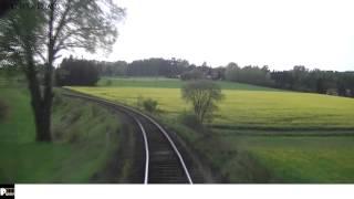 Cabview Trutnov - Jaroměř (trať 032)