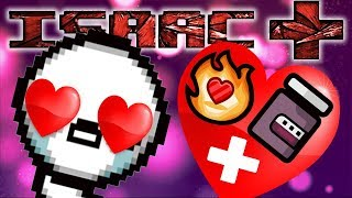 PYROMANIAC + IPECAC NA LOSTCIE?! BEST RUN EVER!  THE BINDING OF ISAAC AFTERBIRTH +