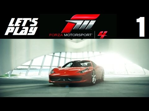 Let's Play Forza Motorsport 4 - Part 1 - Prologue