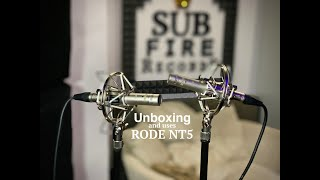Unboxing and uses of RODE NT5