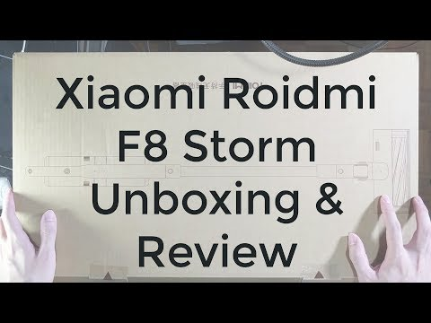 Xiaomi Roidmi F8 Storm Unboxing and Review