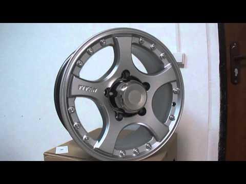 Литые диски СКАД Титан R16 на Ниву (Нива), Chevrolet Niva, Lada 4x4
