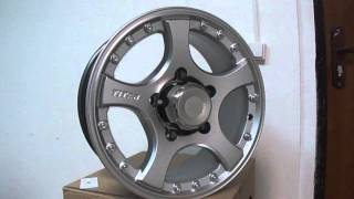 Литые диски СКАД Титан R16 на Ниву (Нива), Chevrolet Niva, Lada 4x4(, 2016-05-09T21:53:39.000Z)