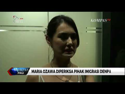 Maria Ozaua Diperiksa Di Kantor Imigrasi Denpasar Bali, Kira kira kenapa ya ? Mp3