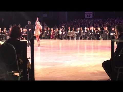 Yuliya and Ricardo final show dance, Ohio Star Ball 2015