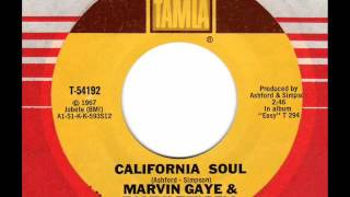 MARVIN GAYE & TAMMI TERRELL California Soul