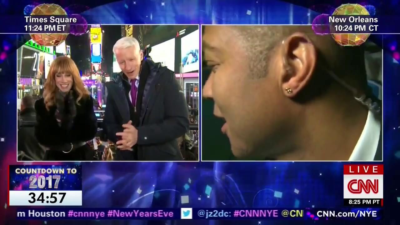 CNN's Don Lemon Reporting DRUNK Live on New Years - YouTube
