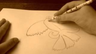 Жар птица(Я рисую жар птицу., 2014-04-28T15:28:46.000Z)