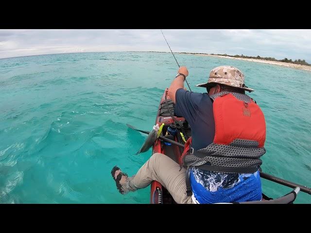 Kayak Fishing Acklins Island, Bahamas