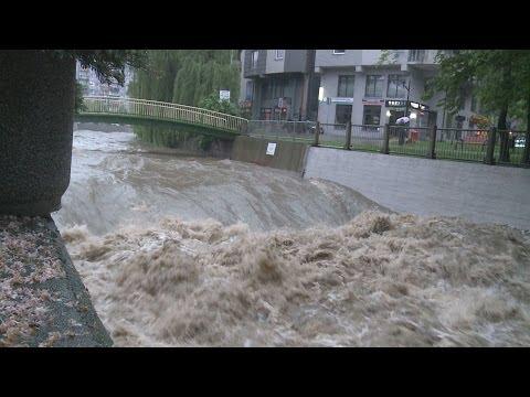 Rzeka Biała (Bielsko-Biała 16 maja 2014r.)